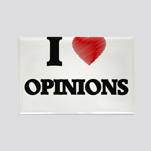 I Love Opinions Magnets