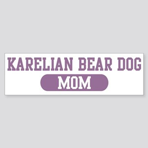 Karelian Bear Dog Mom Bumper Sticker
