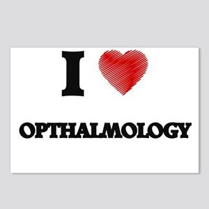 I Love Opthalmology Postcards (Package of 8)