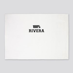 100% RIVERA 5'x7'Area Rug