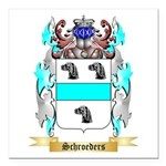 Schroeders Square Car Magnet 3
