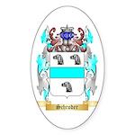 Schroder Sticker (Oval 50 pk)