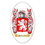 Schouter Sticker (Oval 50 pk)