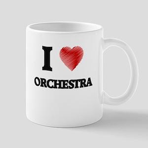 I Love Orchestra Mugs