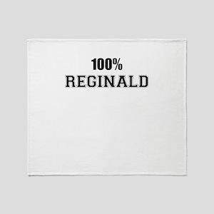 100% REGINALD Throw Blanket