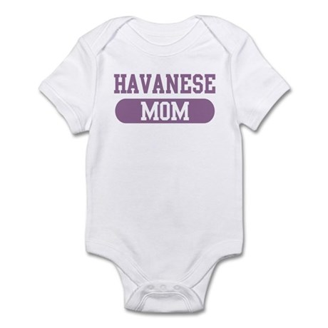 Havanese Mom Infant Bodysuit