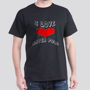 I love Water Polo Games Dark T-Shirt