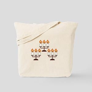 Candelabra Tote Bag