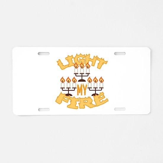 Light My Fire Aluminum License Plate