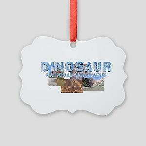 ABH Dinosaur NM Picture Ornament