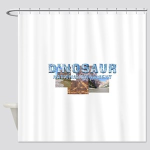 ABH Dinosaur NM Shower Curtain
