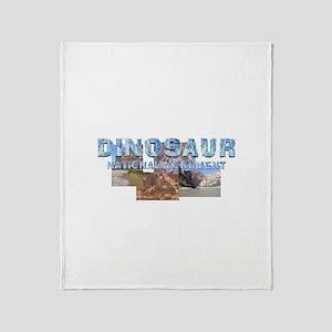 ABH Dinosaur NM Throw Blanket