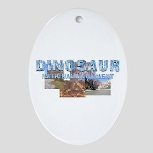 ABH Dinosaur NM Oval Ornament