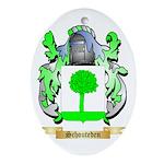 Schouteden Oval Ornament