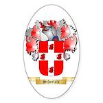 Schortals Sticker (Oval)