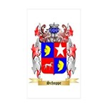 Schoppe Sticker (Rectangle 50 pk)