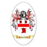 Schoolfield Sticker (Oval)