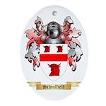 Schoolfield Oval Ornament