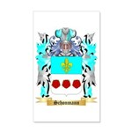Schonmann 35x21 Wall Decal