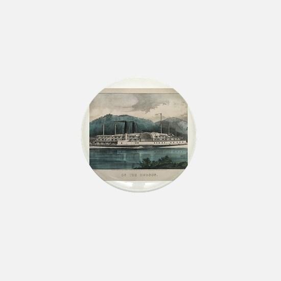 Funny Hudson river Mini Button