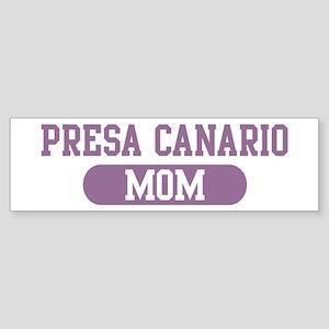 Presa Canario Mom Bumper Sticker
