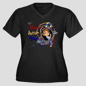 Autism Rosie Plus Size T-Shirt