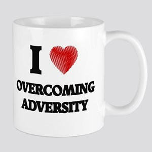 I Love Overcoming Adversity Mugs