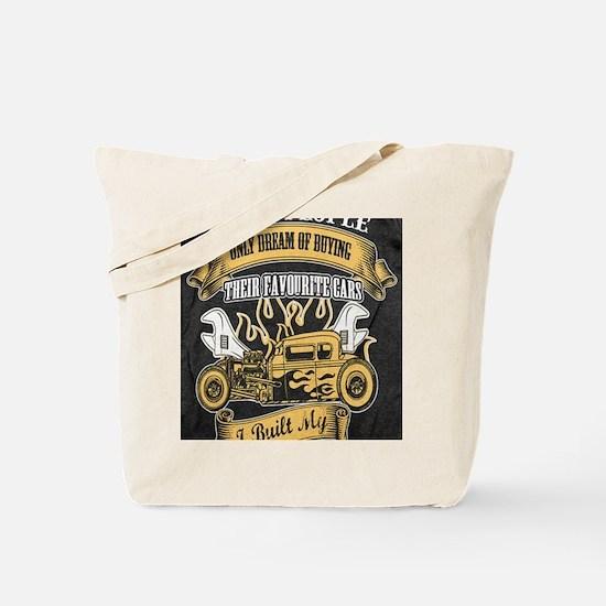 Cool Hot rod Tote Bag