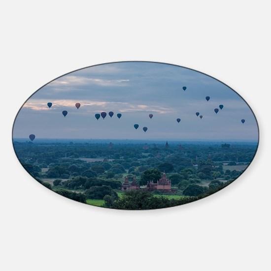 Cute Bagan Sticker (Oval)