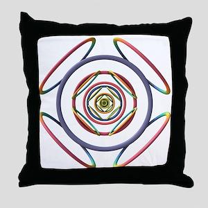 3D Doodle Throw Pillow
