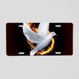 Pentecost Aluminum License Plate