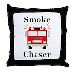 Smoke Chaser Throw Pillow