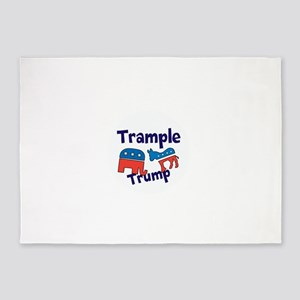 Trample Trump 5'x7'Area Rug