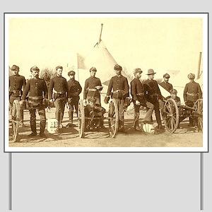 Civil War Soldiers Yard Sign