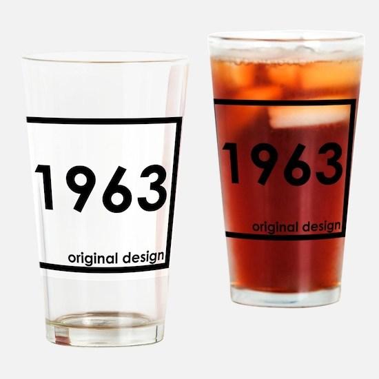 Cute 1963 Drinking Glass