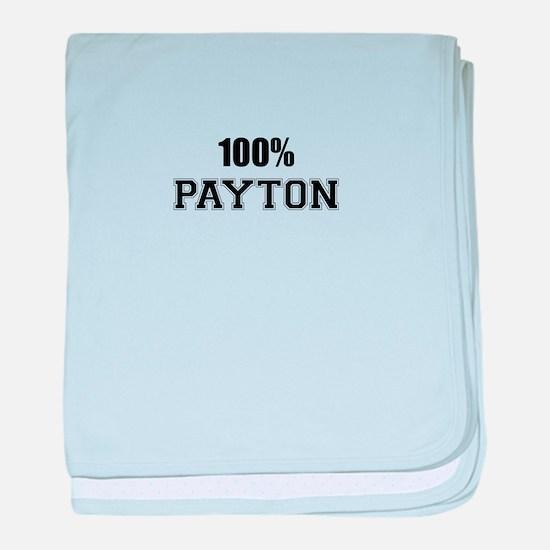 100% PAYTON baby blanket