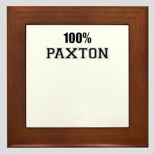 100% PAXTON Framed Tile