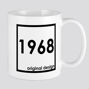 1968 birthday original design year Mugs
