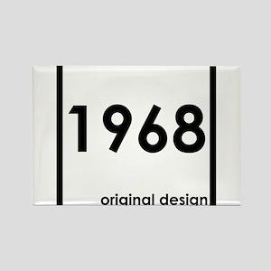1968 birthday original design year Magnets