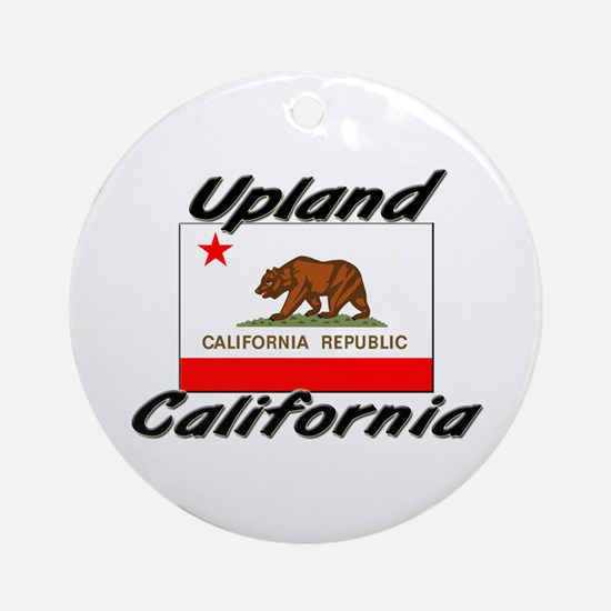 Upland California Ornament (Round)