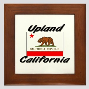 Upland California Framed Tile
