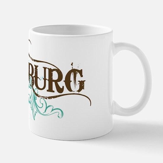 Gettysburg PA grunge Mug