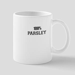 100% PARSLEY Mugs
