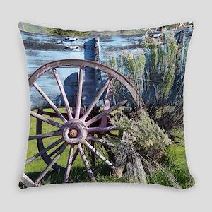 Wagon Wheel Everyday Pillow