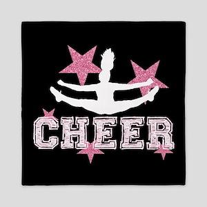 Pink Allstar Cheerleader Queen Duvet