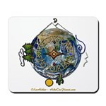 Hiker's Soul Compass Earth Mousepad
