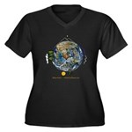Hiker's Soul Compass Earth Plus Size T-Shirt