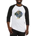 Hiker's Soul Compass Earth Baseball Jersey