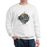 Hiker's Soul Compass Earth Sweatshirt