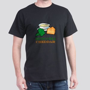 Broccoli Cheddar Soup Dark T-Shirt